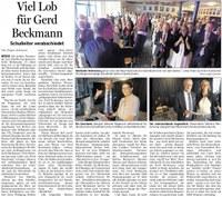 Abschied von Herrn Beckmann