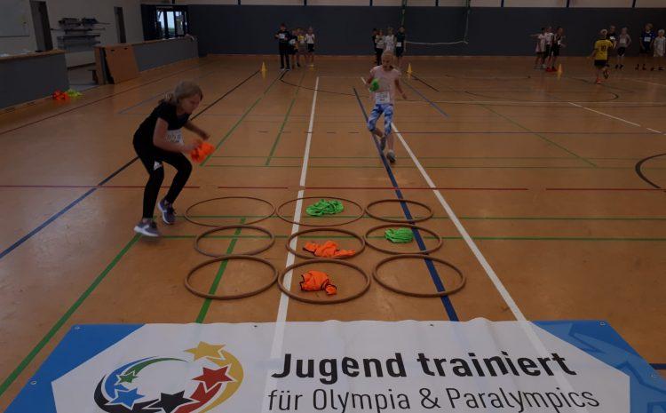 Aktionstag Jugend trainiert für Olympia & Paralympics